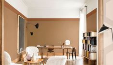 Color Amber Honey: painting Dulux Valentine of the year 2019 - Paint Brands, Decoration Inspiration, Colorful Wallpaper, Color Of The Year, Home Collections, Feng Shui, Game Room, Living Room Designs, Sweet Home