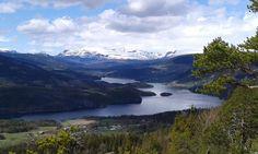 Slidrefjorden, Vestre Slidre, Valdres