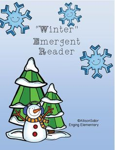 #FreebieFriday ~ Winter Emergent Reader #Free