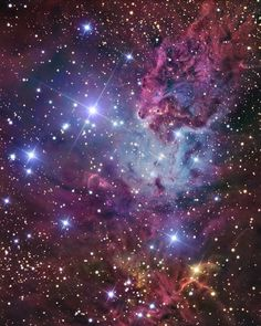 11.1 тыс. отметок «Нравится», 615 комментариев — @space в Instagram: «First word/emoji that comes to mind? ☄ This image of NGC 2264 covers 40 light years, and it's…»
