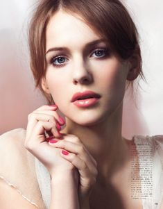 {chanel 2013 beauty collection: soft pinks on the lips and nails}