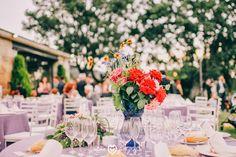 Blog de Organización de Bodas - Wedding Planner Madrid - Centros de Mesa