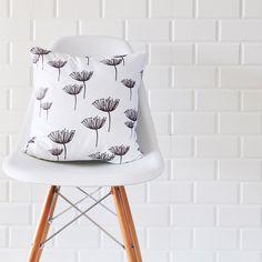 Minimalist Poppy Flowers Decorative Pillow Throw by LoveJoyCreate