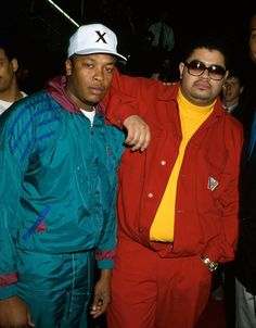 Dr Dre and Heavy D - 90's style
