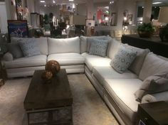 Sam Moore sectional floor sample close out 3999.95