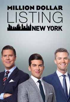 Million Dollar Listing New York Show Poster Movies Showing, Movies And Tv Shows, Bravo Tv, Episode Online, Reality Tv Shows, Drama Queens, Twist Outs, Me Tv, Favorite Tv Shows
