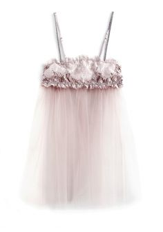 I.D.Sarrieri :: Diaphanous Pleated Camisole In Tulle With Laced Bust