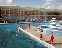 Camping Europe, Camping Uk, Camping Life, California Camping, Outdoor Swimming Pool, Swimming Pools, Butlins Holidays, British Holidays, Vintage Hotels