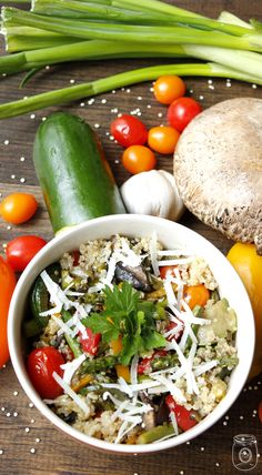 Quinoa Italian Style   #Quinoa, EQuinoaItalianStyle, #VegetableQuinoa