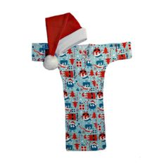 """This week's deal: Our Ooga Booga Christmas Gown and Baby Santa Hat. Visit our website and enter """"dealoftheday"""" at checkout for 25% off this adorable outfit, in sizes for micro preemies up to babies weighing 12 pounds. Good through Sunday, December 10th."""