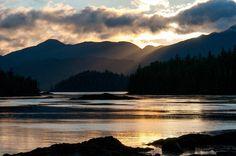 Sunset on #Gwaii Haanas National Park, British Columbia via everything-everywhere.com