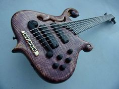 Purple Majesty 6 by KB Guitars and Basses