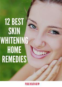 12 BEST SKIN WHITENING HOME REMEDIES