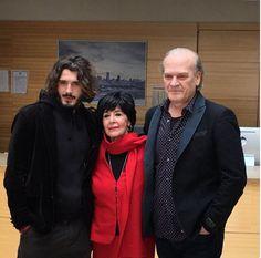 Yon Gonzalez, Concha Velasco, and Lluis Homar, Bajo Sospecha, Season 2, 2016.