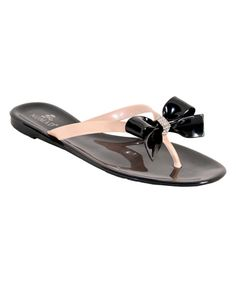 e8e8e0c9495f6 Black  amp  Tan Pixie Sandal by Nomad Footwear  zulily Jelly Flip Flops