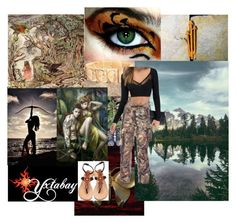 """""""Summer Camo"""" by yxtabay ❤ liked on Polyvore featuring jewelry and Yxtabay"""