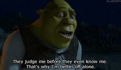 Shrek Quotes Pleasing Shrek Quotes  Moviessss  Pinterest  Shrek Quotes Shrek And Movie