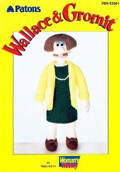 Patons Wallace & Gromit: Knitting Pattern for Wendolene (PBN E2361) by Alan (Designer) Dart, http://www.amazon.co.uk/dp/B004SUDNZW/ref=cm_sw_r_pi_dp_buNitb0B3G9S5