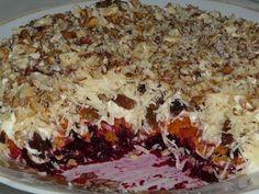 Очень вкусный слоеный салат «Магдалена» - Очень вкусно