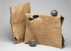 Michael Peterson, Chockstones, 2004. Madrone burl. Courtesy Yale University Art Gallery