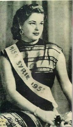 Miss syria 1953