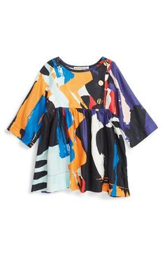 Anthem of the Ants 'Artist' Woven Dress (Baby Girls) available at #Nordstrom