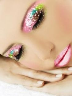 Beauty & Health Glitter Sequin Cream Gel Hair Shimmer Lips Makeup Highlighter Mermaid Eye Face Body Nail Glitter Star & Heart Eye Shadow