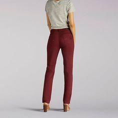 Lee Women's Classic Fit Isabelle Straight Leg Jeans - Petite (Size 10 SlimP)