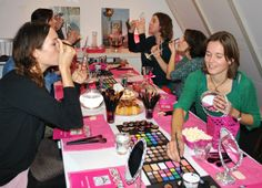 Visagieworkshop Amsterdam Make-up Thema Smokey Eyes