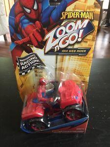 Spider Man Zoom N Go 4x4 Web Rider Motorized New Children's Toy | eBay