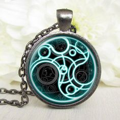 Steampunk Doctor Who Time Lord Necklace