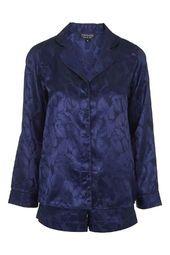 Leaf Jacquard Pyjama Set