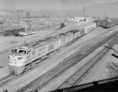 Union Pacific Railroad, Jazz Age, Trains, American, Vintage, Vintage Comics, Train