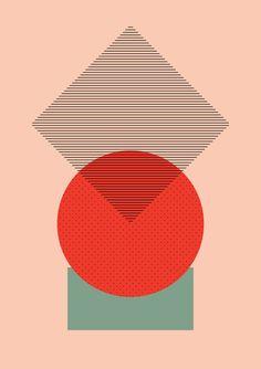 Cirkel is my friend by Marie Flensborg via society6 #Illustration #Marie_Flensborg