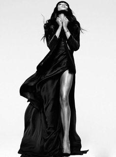 Naomi Campbell ELLE Magazine *