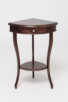 Spruce up any tight space in your home with our corner accent table. Corner Table Designs, Corner Accent Table, Corner Table Living Room, Corner Kitchen Tables, Dining Room, Kitchen Tables For Sale, Kitchen Table With Storage, Kitchen Table Chairs, Corner Furniture