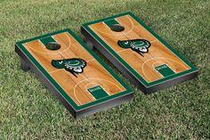 Castleton University Spartans Basketball Court Cornhole Game Set