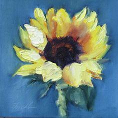 Sunflower 2, painting by artist Pat Fiorello