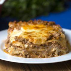 Aprenda a fazer a receita tradicional de lasanha à bolonhesa