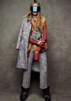 thesocietynyc: Josephine Skriver for the Vogue España January