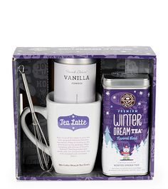 The Coffee Bean & Tea Leaf Official Store, Winter Dream Tea Latte Gift Set, latte gift set, Coffee Bean : Essentials : Gifts, 6877790051