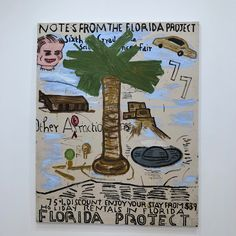 The inimitable Rose Wylie...loving her Film Notes paintings at her solo show at David Zwirner London. #thefloridaproject…