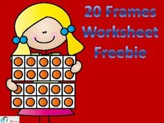 Double 10 Frame Cut and Glue Worksheet Freebie Daily 3 Math, Math Websites, Teen Numbers, Number Puzzles, 10 Frame, Math Centers, First Grade, Full Set, Problem Solving