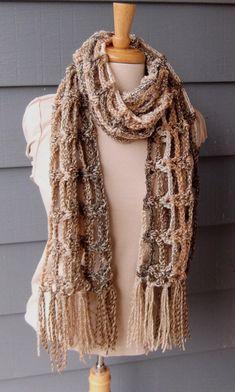 PATTERN S-065 / Crochet Pattern / Toni Scarf by BellaMaePatterns