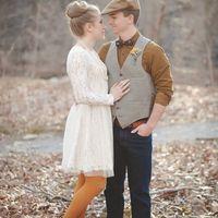 Осенний образ жениха -