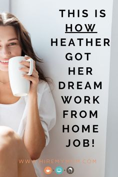 In this video, Heather shares her journey on finding a job on HireMyMom within just a couple of weeks of signing up. Hear her story and her tips for getting hired!