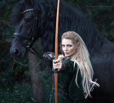 Elven Archeress