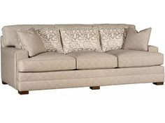 King Hickory Living Room Morocco Fabric Sofa 5700 - Woodley's Furniture - Colorado Springs, Fort Collins, Longmont, Lakewood, Centennial, Northglenn