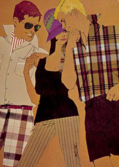 Mid Mod illustration by Bob Peak (American 1927 West Side Story, Bob Peak, Rene Gruau, Commercial Art, Retro Art, Film Stills, Wonderful Images, Art Sketches, Illustration Art