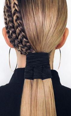 Up Hairstyles, Braided Hairstyles, Hair Inspo, Hair Inspiration, Pelo Editorial, Curly Hair Styles, Natural Hair Styles, Runway Hair, Great Hair